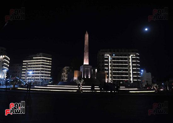 ميدان التحرير بعد إضاءته وتطويره (10)