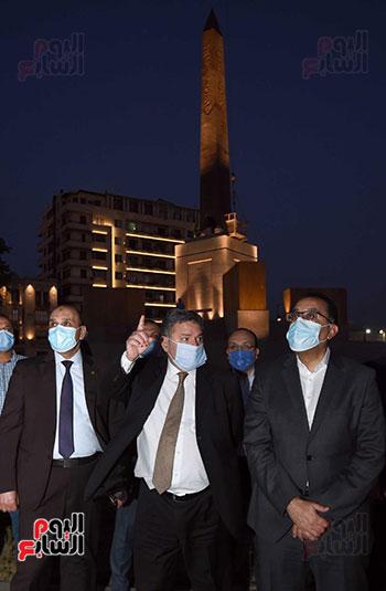 ميدان التحرير بعد إضاءته وتطويره (11)