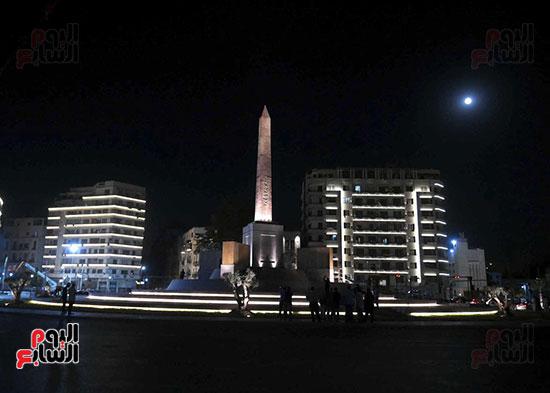 ميدان التحرير بعد إضاءته وتطويره (8)