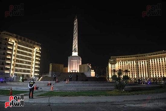 مسلة الملك رمسيس الثانى تزين ميدان التحرير