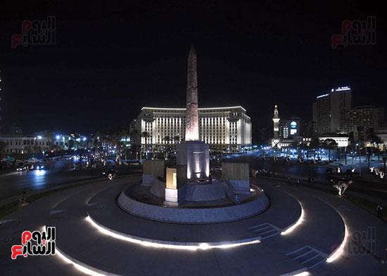 ميدان التحرير بعد إضاءته وتطويره (1)