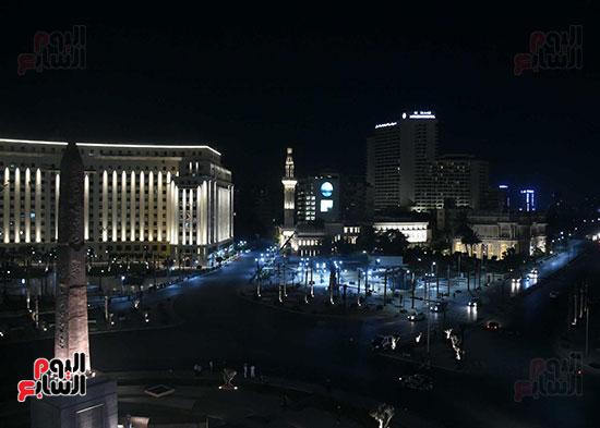 ميدان التحرير بعد إضاءته وتطويره (2)