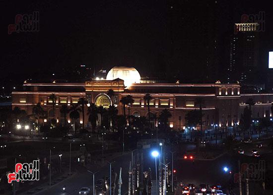 ميدان التحرير بعد إضاءته وتطويره (4)