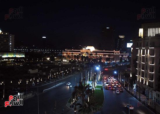 ميدان التحرير بعد إضاءته وتطويره (5)