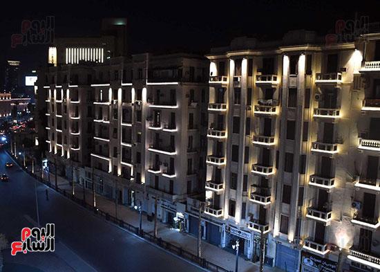 ميدان التحرير بعد إضاءته وتطويره (3)
