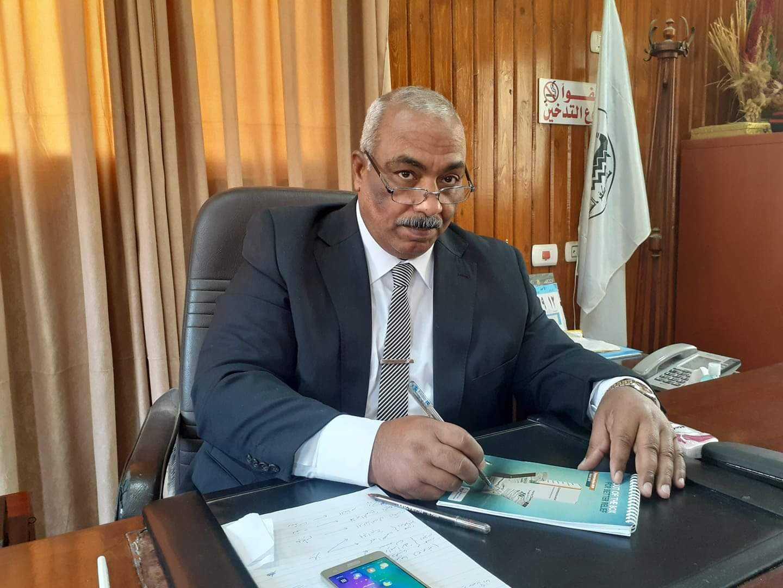 الدكتور أيمن عبدالاه  مدير عام الطب البيطري بكفر الشيخ