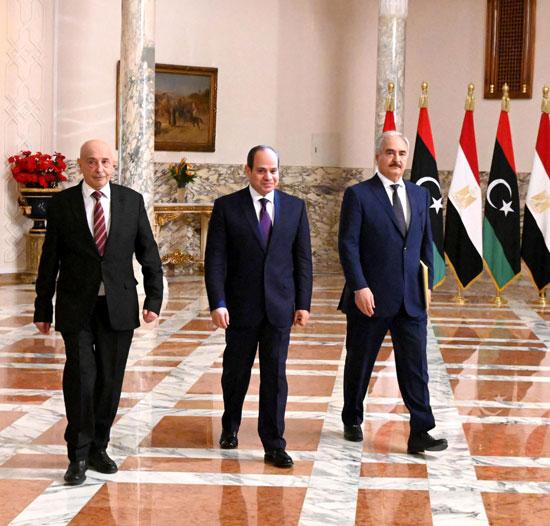 81096-خليفة-حفتر-والرئيس-السيسي-وعقيلة-صالح