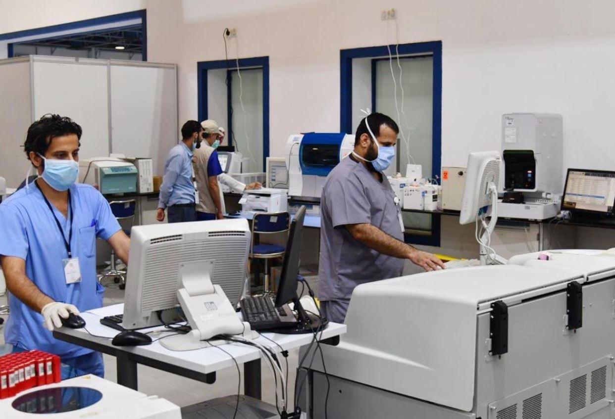 مستشفى ميداني في جدة (4)