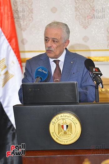 وزير التربية والتعليم يحسم الجدل بشأن امتحانات الثانوية العامة اليوم السابع