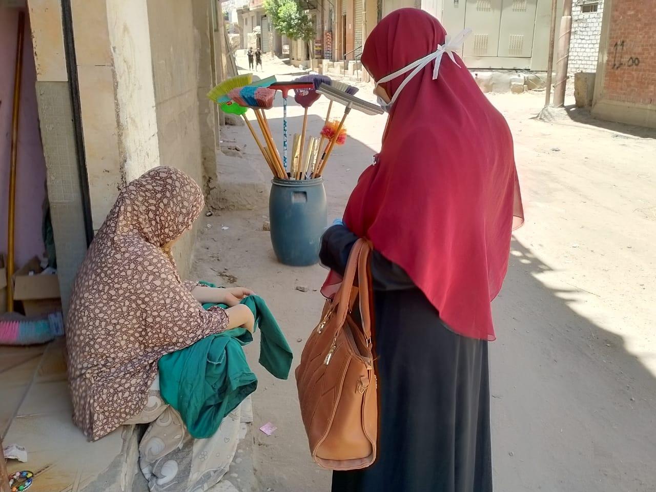 حملات القومي للمرأة بالشرقية بالقرى (6)