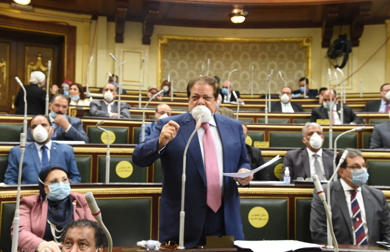 رجل الأعمال النائب محمد أبو العينين (3)