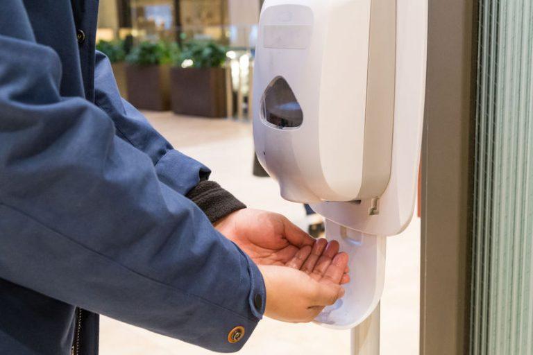 تطهير اليدين