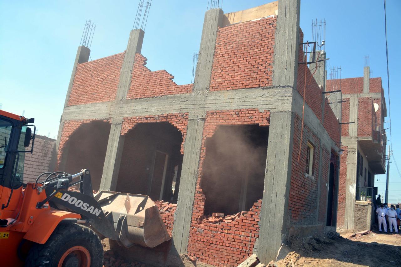 إزالة المباني المخالفة