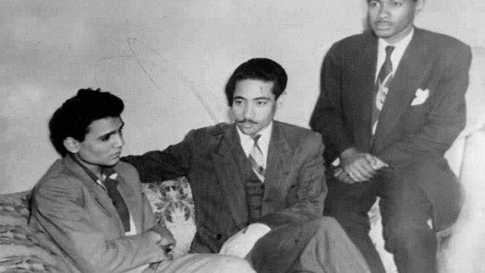 عبد الحليم حافظ ومحمد الموجى