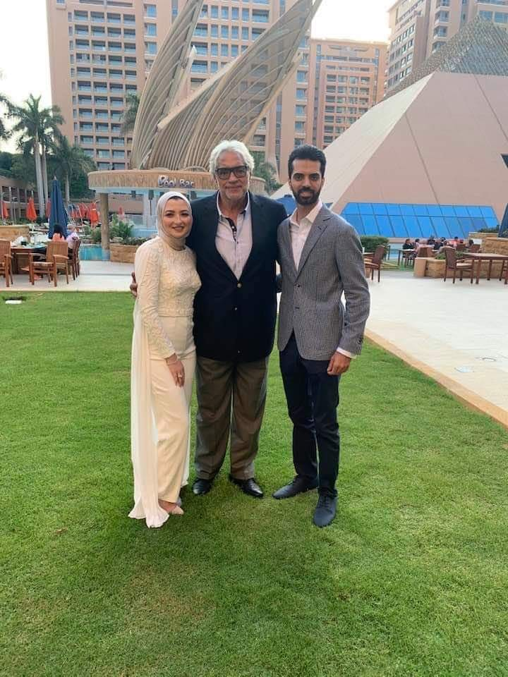 أحمد ناجي يحتفل بخطوبة نجله
