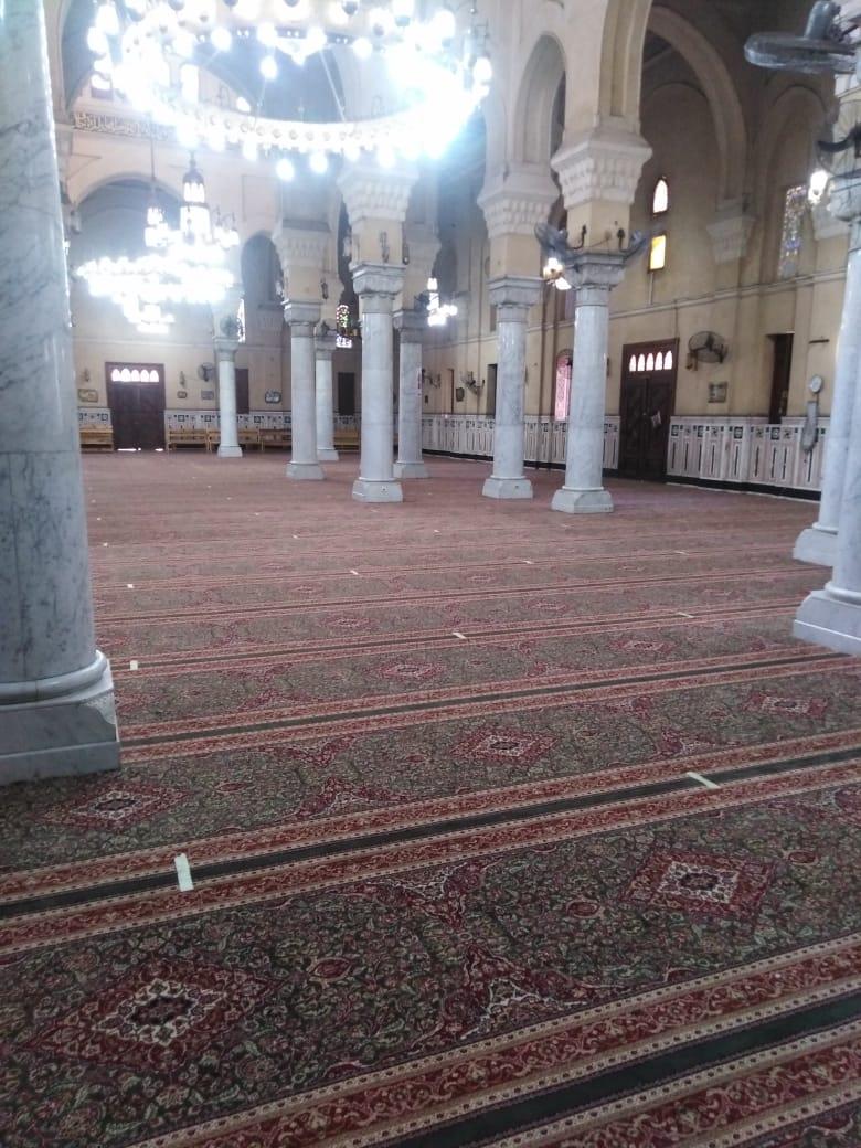 مصلى السيدات بمسجد السيدة زينب