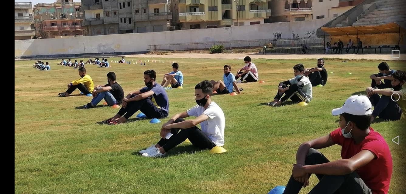 مركز شباب مدينة العريش يواصل أنشطته  (4)