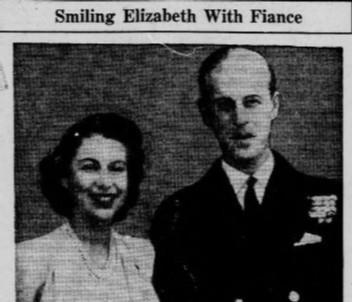 الأميرة إليزابيث والأمير فيليب