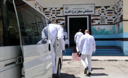 تطهير سجن برج العرب