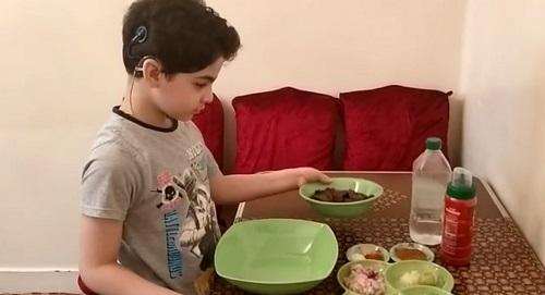 ياسين أصغر شيف فى مصر (13)