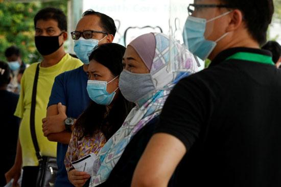 الناخبون فى سنغافورة