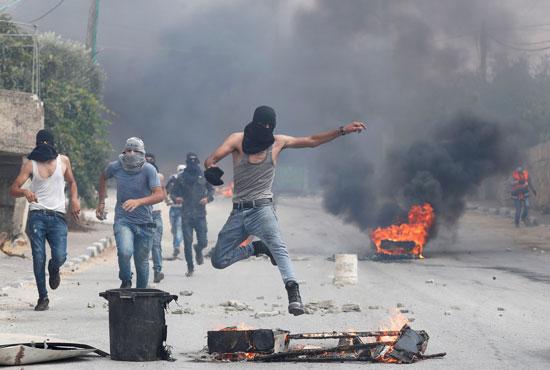 المواجهات مع الاحتلال