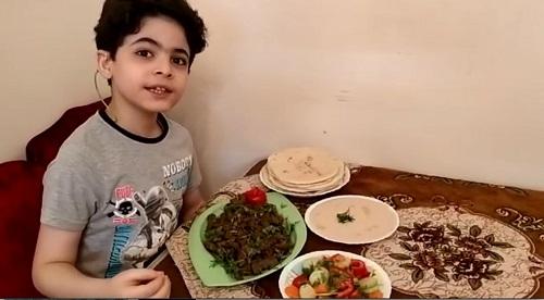 ياسين أصغر شيف فى مصر (10)