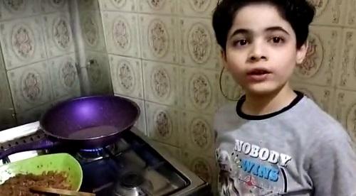 ياسين أصغر شيف فى مصر (14)