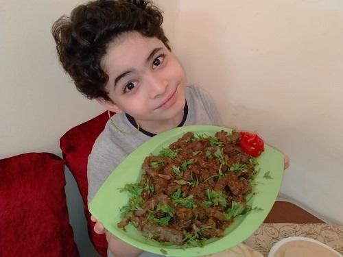 ياسين أصغر شيف فى مصر (8)