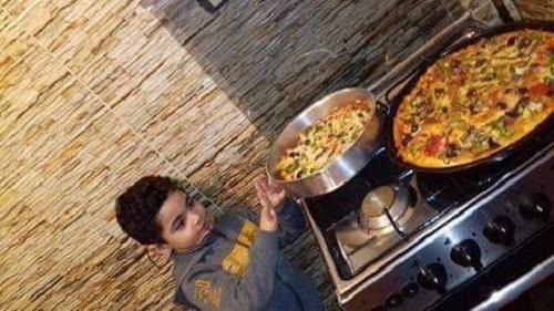 ياسين أصغر شيف فى مصر (4)