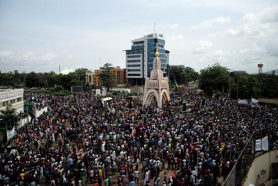 مظاهرات مالى (2)