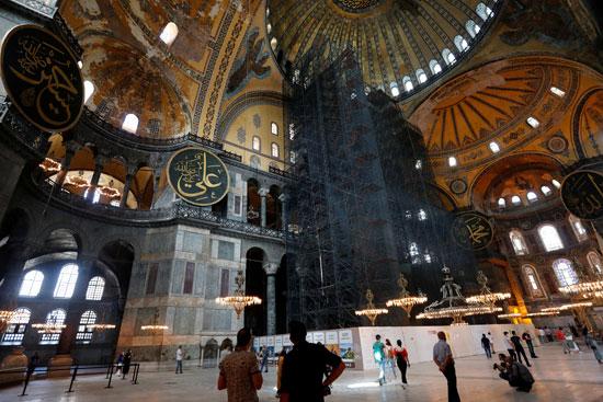 متحف وكنيسة آيا صوفيا