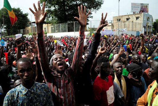 جانب من التظاهرات (2)