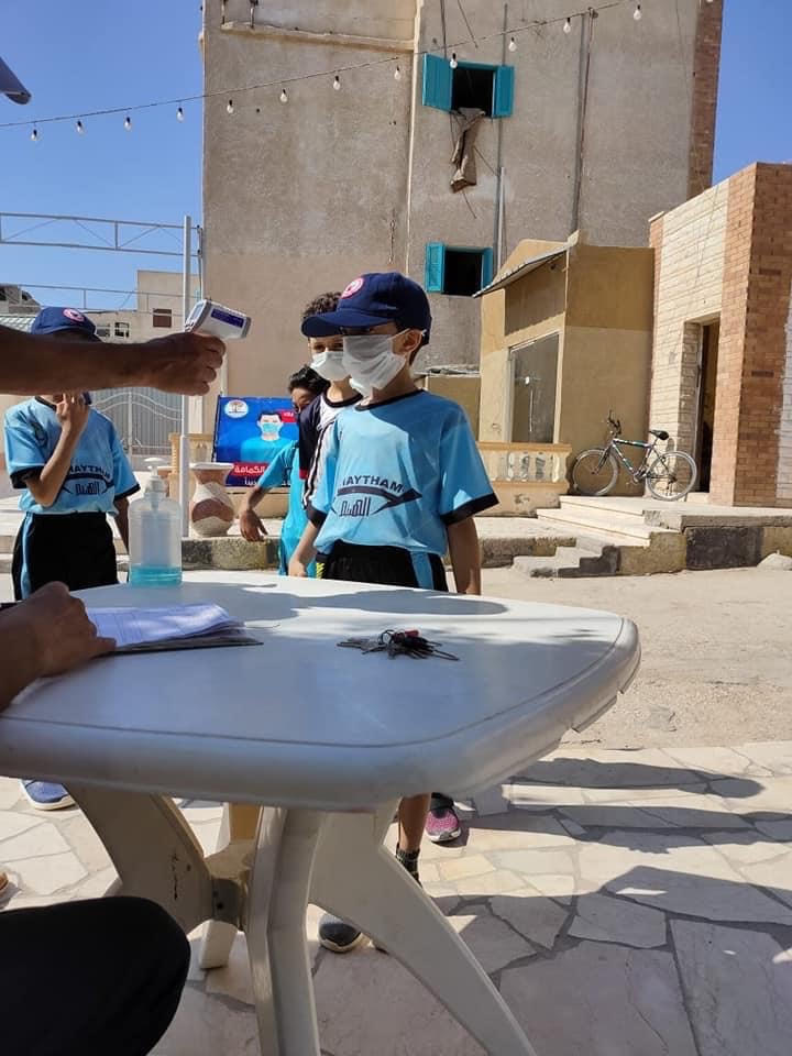مركز شباب مدينة العريش يواصل أنشطته  (1)