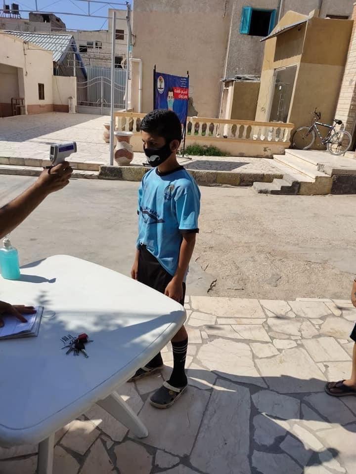 مركز شباب مدينة العريش يواصل أنشطته  (10)