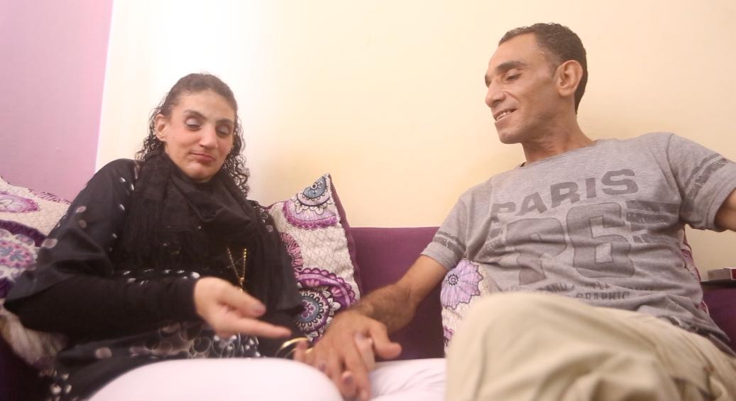 حمدى وزوجتة منه (1)
