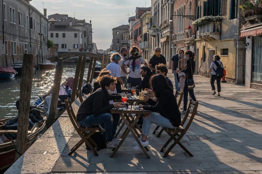 ايطاليا وعودة الحياة الطبيعية