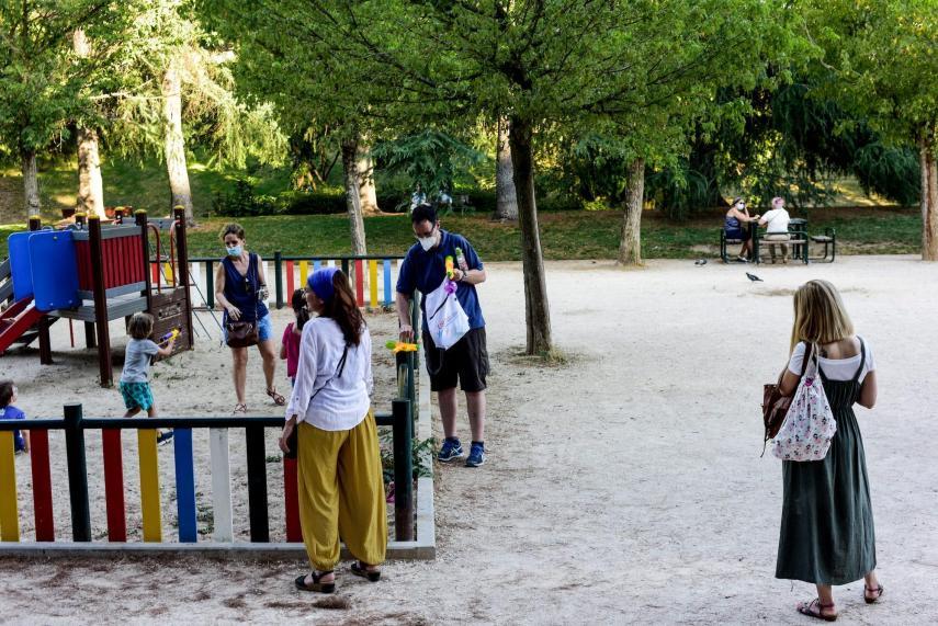 حدائق مدريد