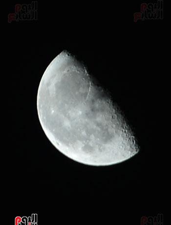 القمر قرب كوكب المريخ  (7)