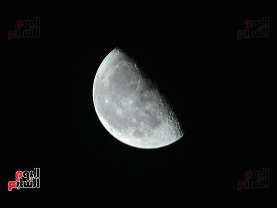 القمر قرب كوكب المريخ  (3)