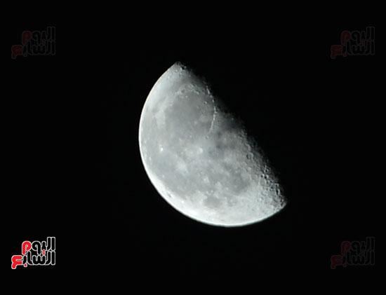 القمر قرب كوكب المريخ  (4)