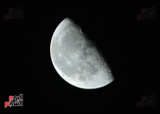 القمر قرب كوكب المريخ  (6)