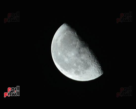 القمر قرب كوكب المريخ  (5)