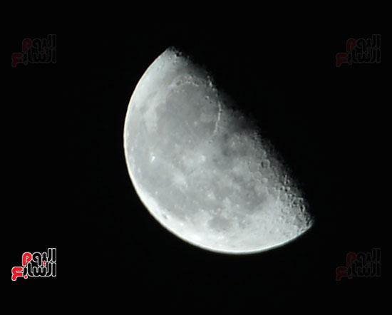 القمر قرب كوكب المريخ  (2)