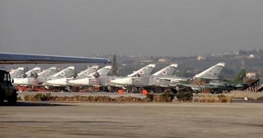 المقاتلات الروسية فى قاعدة حميميم