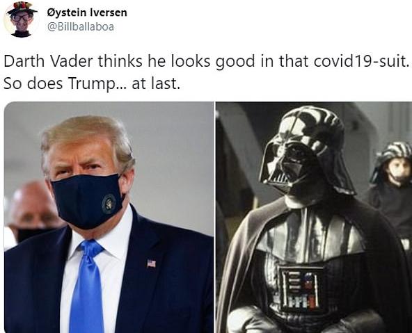 ترامب ودارث فيدر