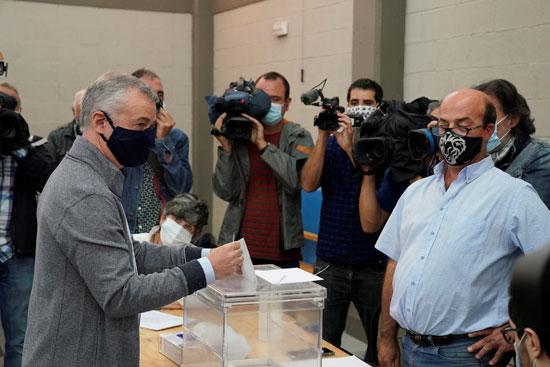 رئيس الوزراء الباسكى يشارك بالانتخابات الإقليمية