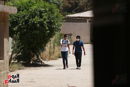 خروج طلاب الثانوية