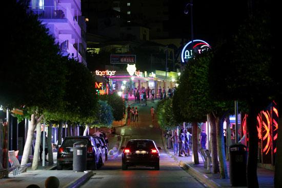 شارع بونتا بالينا بمايوركا