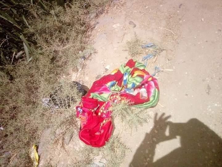 أهالى قرية العديسات قبلى بالأقصر يعثرون على طفل رضيع ملقى بالزراعات (2)